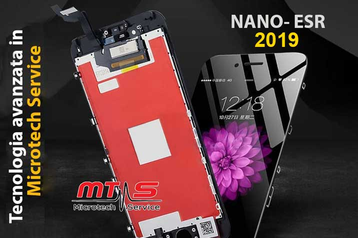 Nano ESR LCD per iPhone